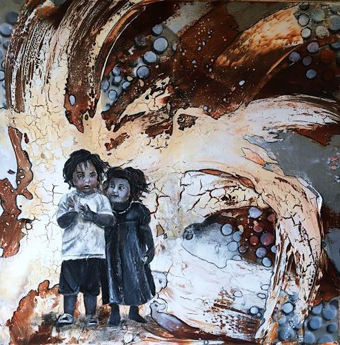 Ursi Goetz, Im Wunderland, Menschen: Kinder, Abstraktes, Aktionskunst