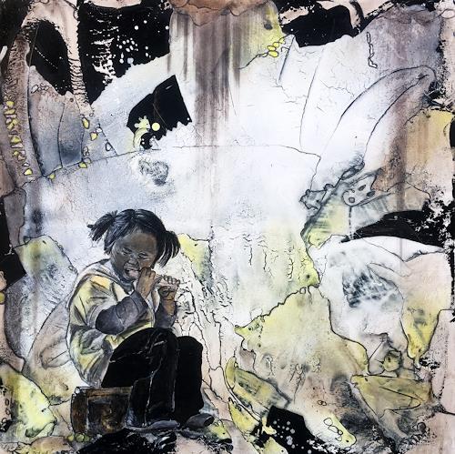 Ursi Goetz, Ich bin ich, Menschen: Kinder, Abstrakte Kunst