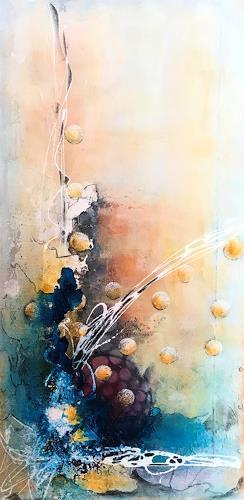 Ursi Goetz, Ohne Titel, Abstraktes, Abstrakte Kunst