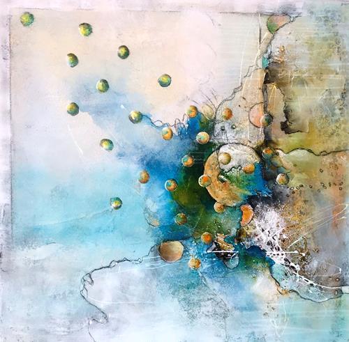 Ursi Goetz, Nicht-sein, Abstraktes, Action Painting