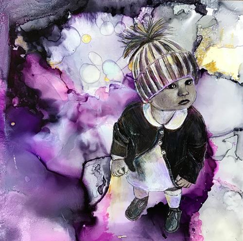 Ursi Goetz, IN IHRER WELT, Menschen: Kinder, Abstraktes, Gegenwartskunst, Expressionismus