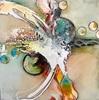 Ursi Goetz, Wieder einmal abstrakt, Abstraktes, Fantasie, Action Painting