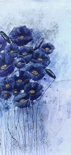 Ursi Goetz, Blumen, Pflanzen: Blumen, Fantasie, Konkrete Kunst