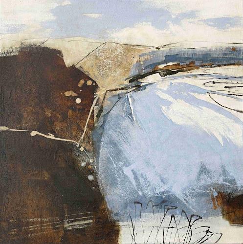 Renate Migas, Aus der Reihe Elemente II, Natur: Diverse, Poesie, Gegenwartskunst, Expressionismus