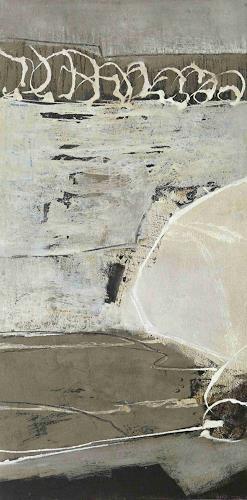 Renate Migas, Fragment - aus der Serie Unbunt, Natur: Erde, Poesie, Gegenwartskunst
