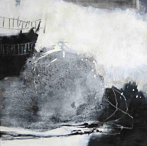 Renate Migas, Wächter des Lichts, Natur, Poesie, Gegenwartskunst, Abstrakter Expressionismus