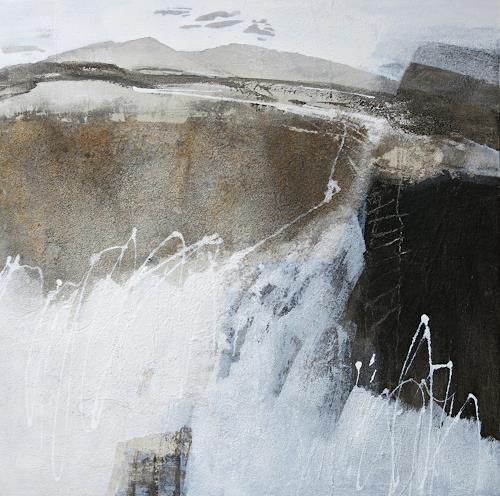 Renate Migas, aus der Serie Landschaft/Elemente, Landschaft, Poesie, Gegenwartskunst, Expressionismus