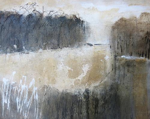 Renate Migas, o.T., Zeiten: Winter, Poesie, Gegenwartskunst, Expressionismus
