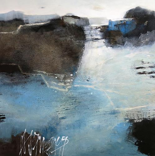 Renate Migas, Beginn, Symbol, Natur: Wasser, Gegenwartskunst, Expressionismus