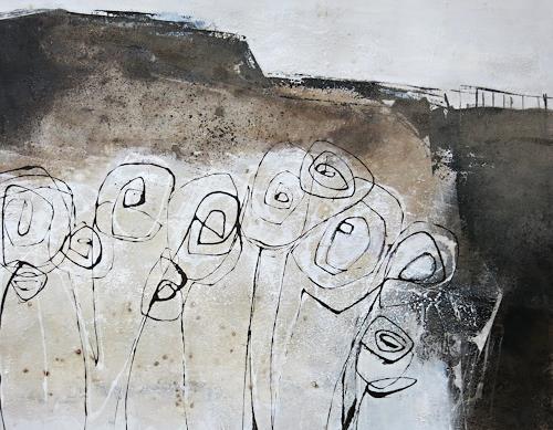 Renate Migas, verborgen Blühen, Menschen, Poesie, Gegenwartskunst, Abstrakter Expressionismus