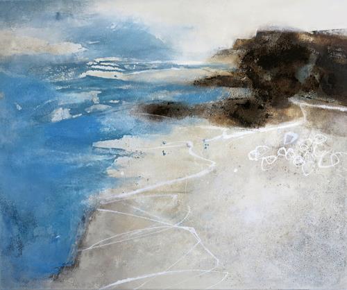 Renate Migas, Anderland, Landschaft, Poesie, Gegenwartskunst, Expressionismus