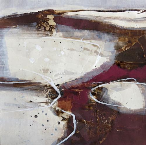Renate Migas, o.T., Abstraktes, Poesie, Gegenwartskunst, Abstrakter Expressionismus
