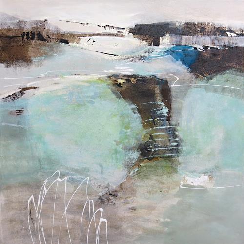 Renate Migas, Stille Tage, Natur: Luft, Poesie, Gegenwartskunst, Expressionismus