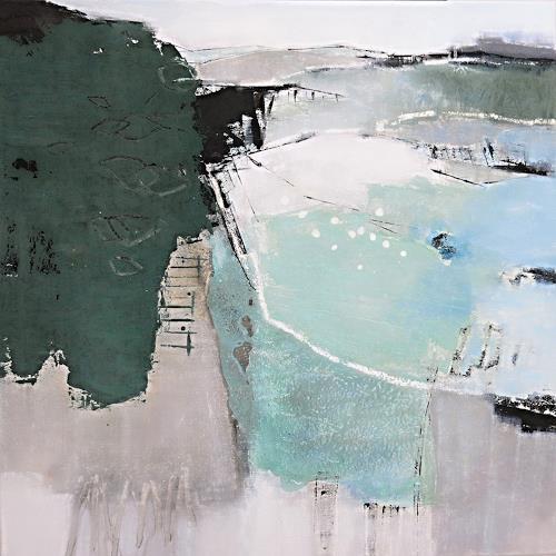Renate Migas, Sommerreise, Natur: Diverse, Poesie, Gegenwartskunst, Expressionismus