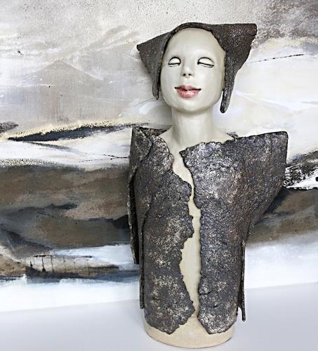 Renate Migas, Flüsternde Schatten, Mythologie, Poesie, Gegenwartskunst, Expressionismus