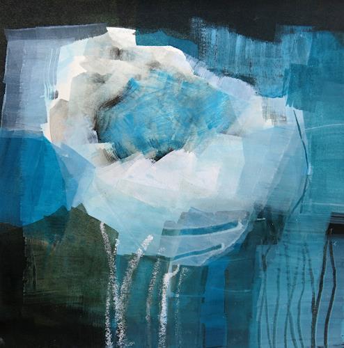 Renate Migas, o.T., Abstraktes, Poesie, Gegenwartskunst, Expressionismus