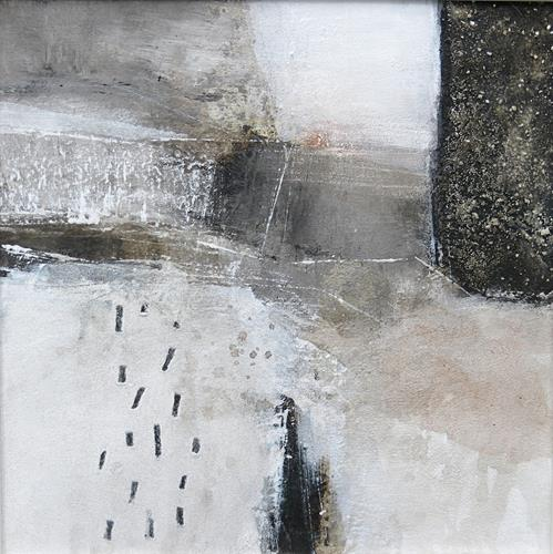 Renate Migas, Winter time/1, Landschaft: Winter, Poesie, Gegenwartskunst