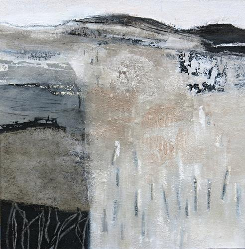 Renate Migas, Winter time/2, Landschaft: Winter, Poesie, Gegenwartskunst, Expressionismus