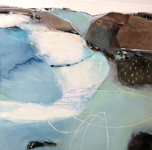 Renate Migas, o.T., Landschaft, Poesie, Gegenwartskunst, Expressionismus
