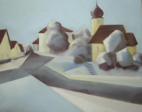 Kerstin Weber, Hohenstadt, Diverse Landschaften, Kubismus, Expressionismus