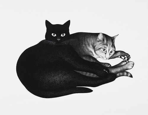 Hans Rüttimann, Geschwisterliebe, Tiere: Land, Realismus