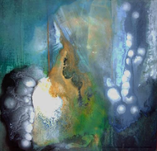 Thomas Böhm, o.T., Abstraktes, Abstrakte Kunst, Expressionismus