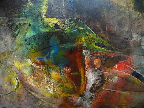 Thomas Böhm, Chamäleon, Abstraktes, Abstrakte Kunst