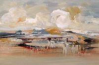 Elke-Andrea-Strate-Landschaft-Winter-Moderne-Moderne
