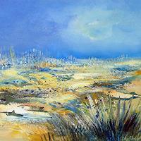 Elke-Andrea-Strate-Diverse-Landschaften-Abstraktes-Moderne-Moderne