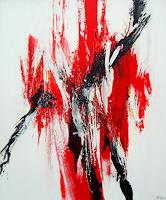 Elke-Andrea-Strate-Abstraktes-Moderne-Abstrakte-Kunst-Informel