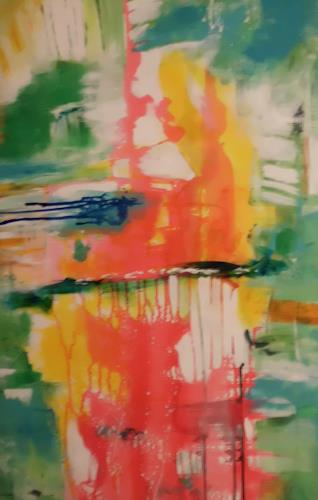 Karin Kölli, Detail - Alles lebt!, Abstraktes, Fantasie