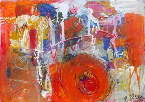 Frauke Klinkforth, Turbolenzen, Abstraktes, Postsurrealismus