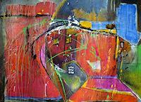 Frauke-Klinkforth-Diverse-Bauten-Abstraktes-Moderne-Abstrakte-Kunst