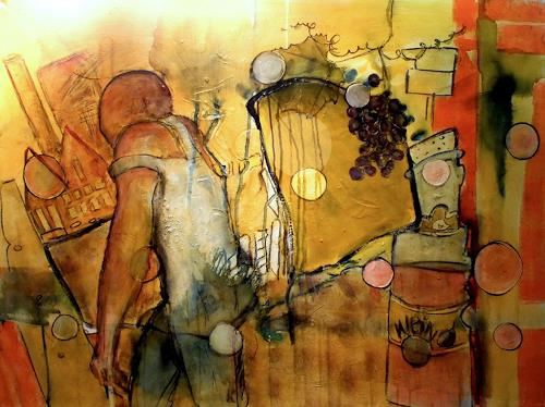 Frauke Klinkforth, Works end, Arbeitswelt, Abstraktes, Abstrakte Kunst