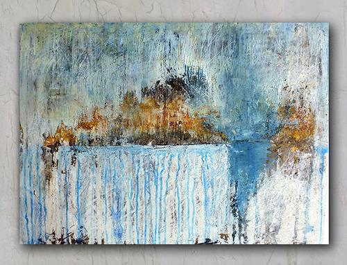 Frauke Klinkforth, Meine Insel, Landschaft, Abstraktes, Abstrakte Kunst