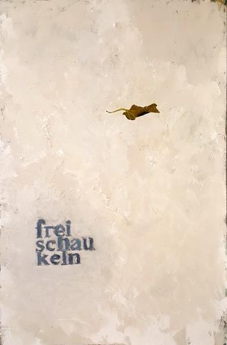 Frauke Klinkforth, Freischaukeln, Skurril, Abstrakte Kunst