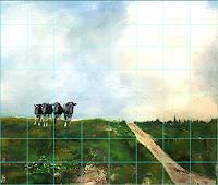 Frauke-Klinkforth-Tiere-Landschaft-Moderne-Abstrakte-Kunst