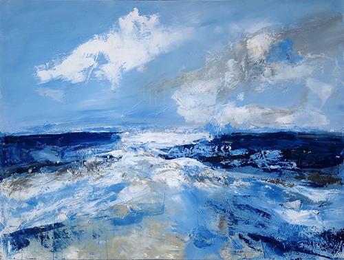 Frauke Klinkforth, das grosse Meer, Diverses, Natur, Abstrakte Kunst, Expressionismus