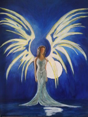 Elke Hildegard Qual, Engel des 21.Jahrhunderts, Menschen: Frau, Glauben