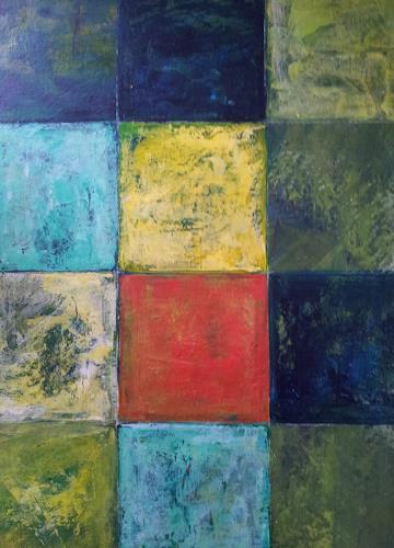 Elke Hildegard Qual, Colourfield, Abstraktes