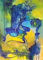 Elke-Hildegard-Qual-Abstraktes-Gegenwartskunst-Neue-Wilde