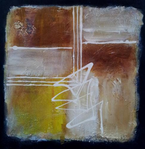 Elke Hildegard Qual, O/T, Abstraktes, Landschaft: Ebene, Neue Wilde