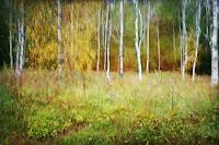 Heike-Hultsch-Pflanzen-Baeume-Landschaft-Herbst-Moderne-Impressionismus-Neo-Impressionismus