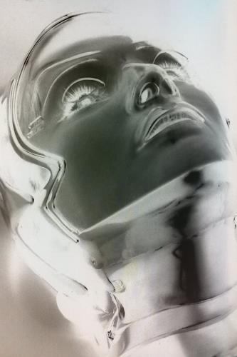 Roland Ehmig, xray woman, Abstraktes, Fantasie, Abstrakte Kunst, Abstrakter Expressionismus