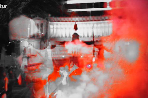 Roland Ehmig, Tribute to Jack White, Menschen: Porträt, Colour Field Painting