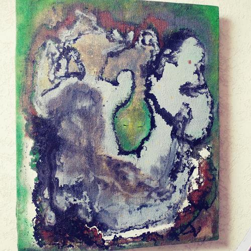 Roland Ehmig, Dschungel, Landschaft, Abstrakte Kunst
