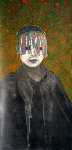 Jorge Melício, Costume Party, Fantasie, Menschen: Kinder, Hyperrealismus, Abstrakter Expressionismus
