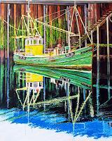 Ulrich-Herren-Verkehr-Schiff-Moderne-Naturalismus