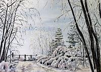 Ulrich-Herren-Landschaft-Winter-Moderne-Naturalismus