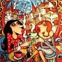 Anastasia-May-Menschen-Frau-Freizeit-Moderne-Pop-Art